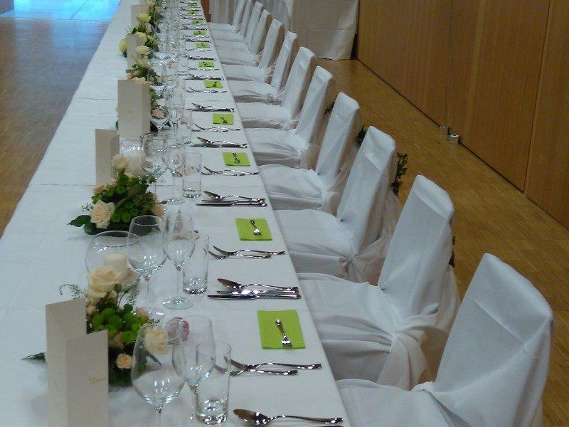 B4 Veranstaltungszentrum Hochzeit Bestuhlung