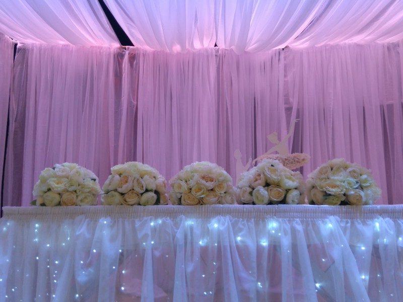 B4 Veranstaltungszentrum Hochzeit Blumenschmuck