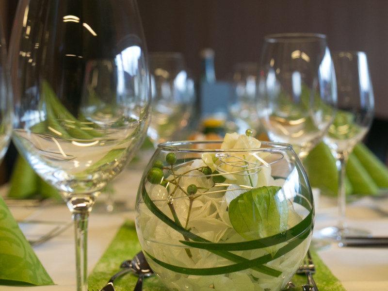 B4 Veranstaltungszentrum Hochzeit Weinglas